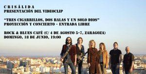 CRISÁLIDA @ ROCK AND BLUES   Zaragoza   Aragón   España