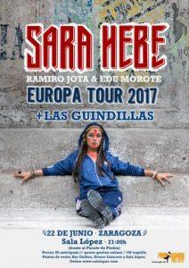SARA HEBE + LAS GUINDILLAS @ SALA LÓPEZ | Zaragoza | Aragón | España