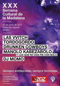 SIEMPRE ANTIFASCISTAS, SIEMPRE FEMINISTAS @ Plaza de San Agustín, 50002 Zaragoza (Zaragoza), España   Zaragoza   Aragón   España