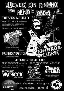 LACOMUERTE + HERMANOS A LAS RAMAS @ LA BÓVEDA DEL ALBERGUE | Zaragoza | Aragón | España