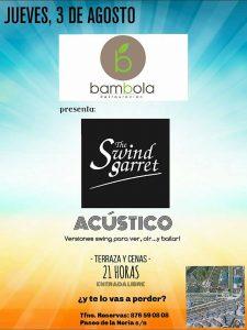 THE SWIND GARRET @ TERRAZA BÁMBOLA | Zaragoza | Aragón | España