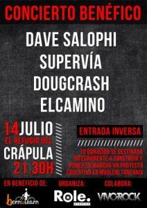 DAVE SALOPHI + SUPERVÍA + DOUGCRASH + EL CAMINO @ EL REFUGIO DEL CRÁPULA | Zaragoza | Aragón | España