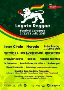 LAGATA REGGAE FESTIVAL 2017 @ CAMPING CIUDAD DE ZARAGOZA | Zaragoza | Aragón | España