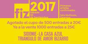 FIZ 2017 - XVII Festival de Música Independiente de Zaragoza @ SALA MULTIUSOS | España