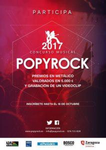 FINAL POPYROCK 2017 @ EL TUNEL | Zaragoza | Aragón | España