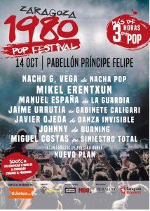 ZARAGOZA 1980 POP FESTIVAL @ PABELLON PRINCIPE FELIPE | Zaragoza | Aragón | España