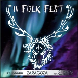 II FOLK FEST @ CENTRO CÍVICO DELICIAS | Zaragoza | Aragón | España
