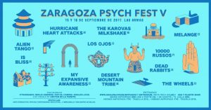 V ZARAGOZA PSYCH FEST 2017 @ LAS ARMAS | Zaragoza | Aragón | España