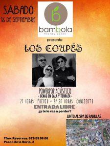 LOS COUPÉS @ RESTAURANTE BAMBOLA | Zaragoza | Aragón | España