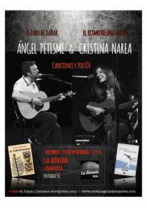 ÁNGEL PETISME & CRISTINA NAREA @ LA BÓVEDA DEL ALBERGUE | Zaragoza | Aragón | España