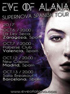 EVE OF ALANA @ LA LEY SECA | Zaragoza | Aragón | España