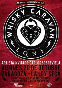 WHISKY CARAVAN @ LA LEY SECA | Zaragoza | Aragón | España