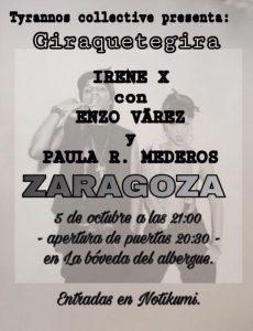 IRENE X @ LA BÓVEDA DEL ALBERGUE | Zaragoza | Aragón | España