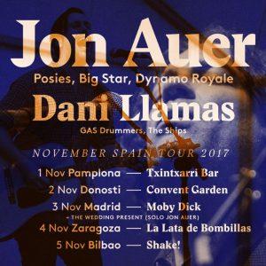 JON AUER + DANI LLAMAS @ LA LATA DE BOMBILLAS | Zaragoza | Aragón | España