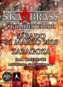LA SKA BRASS @ CREEDENCE | Zaragoza | Aragón | España