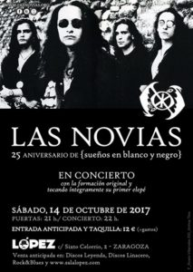 LAS NOVIAS @ SALA LÓPEZ | Zaragoza | Aragón | España