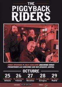 PIGGYBACK RIDERS + SULO + CHRIS SPEDDING @ LA CASA DEL LOCO | Zaragoza | Aragón | España