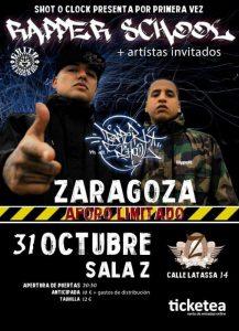 RAPPER SCHOOL @ SALA ZETA | Zaragoza | Aragón | España