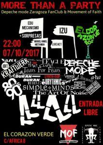 DEPECHE MODE PARTY @ TERRAZA EL CORAZÓN VERDE | Zaragoza | Aragón | España