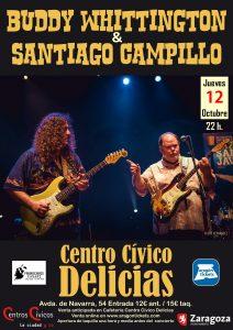 SANTI CAMPILLO + BUDDY WHITTINGTON @ CENTRO CÍVICO DELICIAS | Zaragoza | Aragón | España