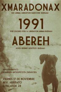 1991 + ABEREH + xMARADONAx @ AVV ARREBATO | Zaragoza | Aragón | España