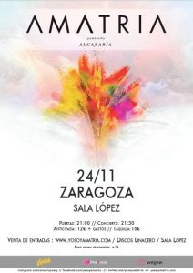 AMATRIA @ SALA LÓPEZ | Zaragoza | Aragón | España