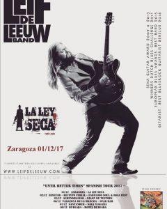 LEIF DE LEEUW @ LA LEY SECA | Madrid | Comunidad de Madrid | España