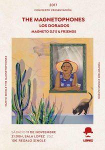 THE MAGNETOPHONES + LOS DORADOS @ SALA LÓPEZ | Zaragoza | Aragón | España