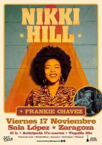 NIKKI HILL + FRANKIE CHAVEZ @ SALA LÓPEZ | Zaragoza | Aragón | España
