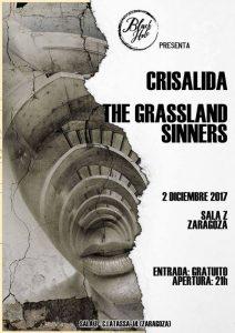 CRISÁLIDA + THE GRASSLAND SINNERS @ SALA ZETA | Zaragoza | Aragón | España