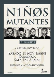 NIÑOS MUTANTES @ LAS ARMAS | Zaragoza | Aragón | España