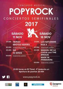SEMIFINALES POPYROCK @ EL TUNEL | Zaragoza | Aragón | España