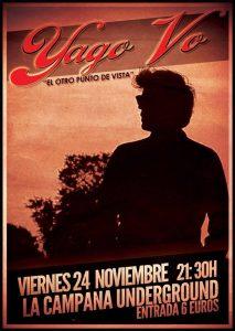 YAGO VOYEUR @ LA CAMPANA UNDERGROUND | Zaragoza | Aragón | España