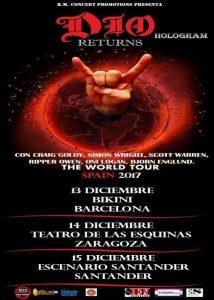 DIO RETURNS @ TEATRO DE LAS ESQUINAS | Zaragoza | España