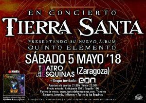 TIERRA SANTA @ TEATRO DE LAS ESQUINAS | Zaragoza | España
