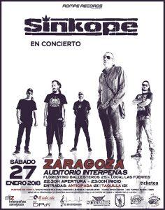 SINKOPE @ INTERPEÑAS | Zaragoza | Aragón | España