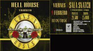 HELL HOUSE - Tributo a Guns N' Roses @ SNATCH CLUB | Zaragoza | Aragón | España