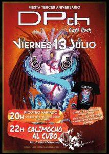 CALIMOCHO AL CUBO @ CAFE DPch | Zaragoza | Aragón | España