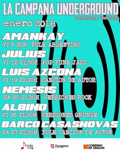 JULIUS @ LA CAMPANA UNDERGROUND | Zaragoza | Aragón | España