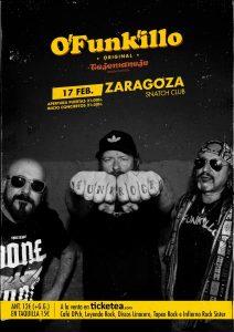 O'FUNK'ILLO @ SNATCH CLUB | Zaragoza | Aragón | España