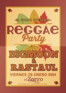 BGMOON & RASTAUL @ PUB EL ZORRO | Zaragoza | Aragón | España