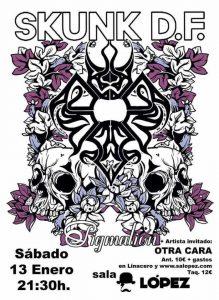 SKUNK D.F. @ SALA LÓPEZ | Zaragoza | Aragón | España