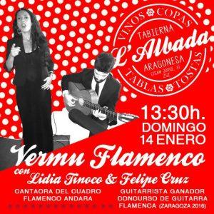 VERMU FLAMENCO @ L-ALBADA TABIERNA | Zaragoza | Aragón | España