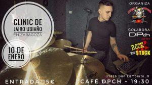 CLINIC DE JAIRO UBIAÑO @ CAFÉ DPch | Zaragoza | Aragón | España