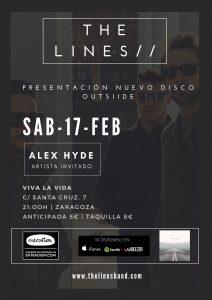 THE LINES + ALEX HYDE @ VIVA LA VIDA | Zaragoza | Aragón | España