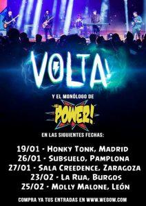 VOLTA & ABI POWER @ SALA CREEDENCE | Zaragoza | Aragón | España