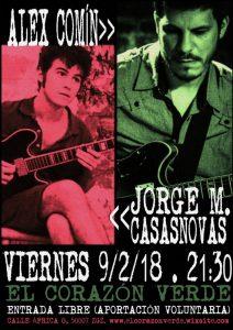 JORGE MARTÍNEZ CASASNOVAS & ALEX COMÍN @ EL CORAZON VERDE | Zaragoza | Aragón | España