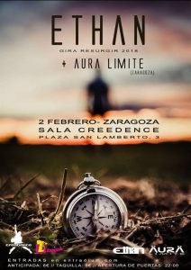 ETHAN + AURA LÍMITE @ SALA CREEDENCE | Zaragoza | Aragón | España