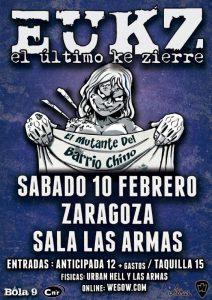 EL ÚLTIMO KE ZIERRE @ LAS ARMAS | Zaragoza | Aragón | España