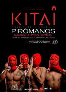 KITAI + ENDISCORDIA @ LA LEY SECA | Zaragoza | Aragón | España